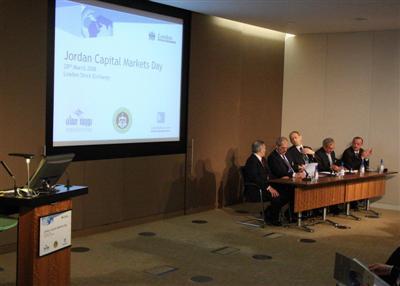 مؤتمر سوق رأس المال الأردني الثاني في بورصة لندن