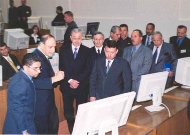 King Abdullah II Visit 1