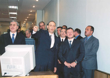 King Abdullah II Visit 5