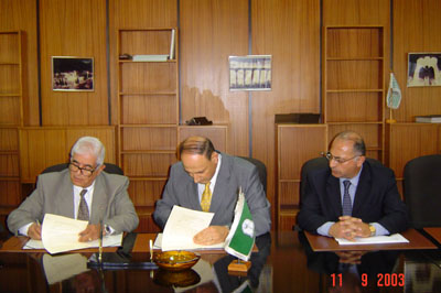 Cooperation Agreement with Yarmouk University