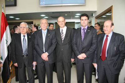 ASE Participates in the Inauguration of Damascus Stock Exchange