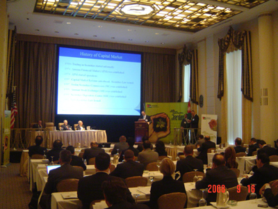 2nd Jordan Capital Markets Conference In New York