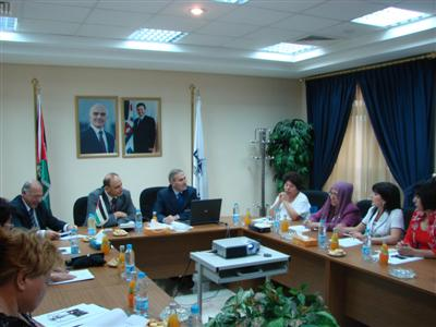 Delegation from Businesswomen and Contracting Works in Uzbekistan visits ASE